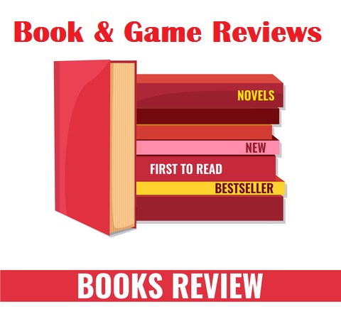 Book & Game Review Sign